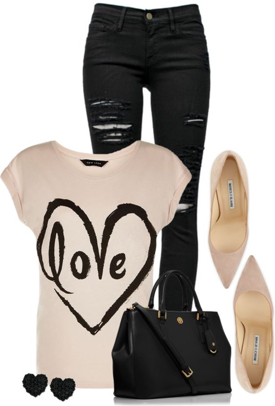 25 Great Ideas of Valentines Day Outfits from Polyvore - Be Modish - Be Modish: