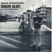 """Song 44 """"Hungry Heart"""" Bruce Springsteen (1980) Early in my college teaching career, I went out with the students after our Final Exam and the Pizza Hut (of all places) allowed us to stay and party after they closed and even allowed us to turn up the juke box and this song was played a lot that night. http://www.dailymotion.com/video/x14mmn_hungry-heart-bruce-springsteen_music"""