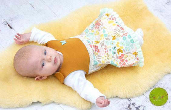 Tutorials Baby - * Ebook * Strampelienchen DRESS * Gr. 56-98 * - a designer piece of PomundPino at DaWanda