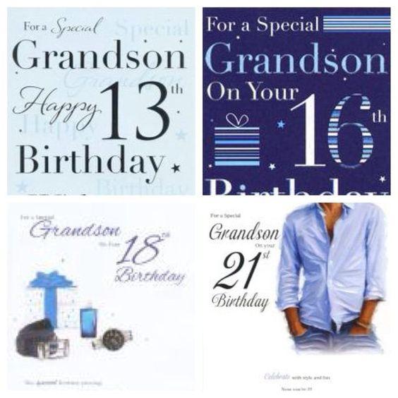 Recipes Directory Grandson Birthday Happy 13th Birthday Grandson Birthday Cards