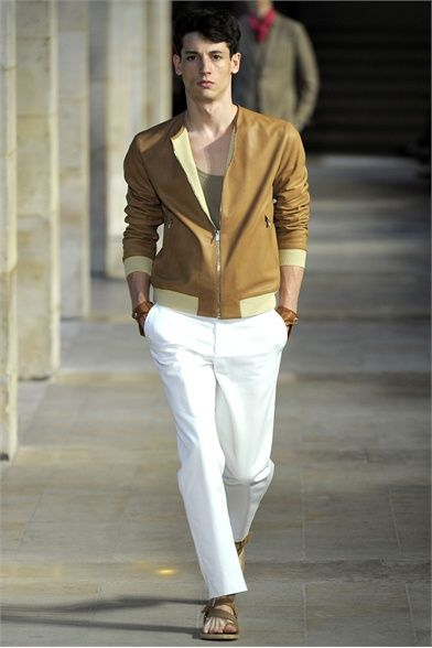Hermès S/S 2012 - yet another jacket i want