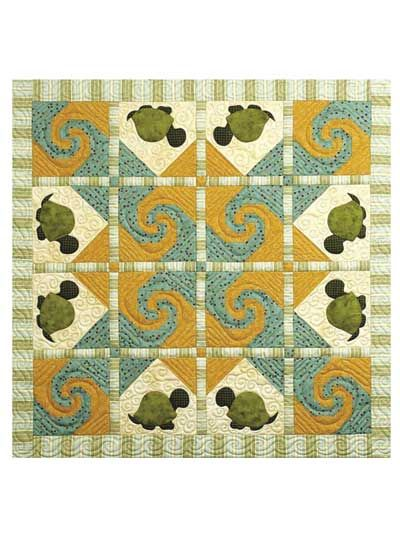 Quilt Patterns With Turtles : baby quilts turtles Baby & Kids Applique Patterns - Turtle Trail Baby Quilt Ideas ...