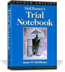 What About Paris?: Best Books on Lawyering: James McElhaney's Trial Notebook (4th Ed. 2005).