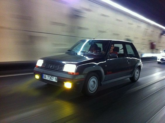 Renault 5 GT Turbo PH1 Black