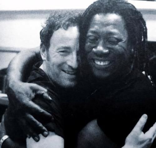 Bruce and Clarence. Is that not love and joy Comin out of both of them ..?