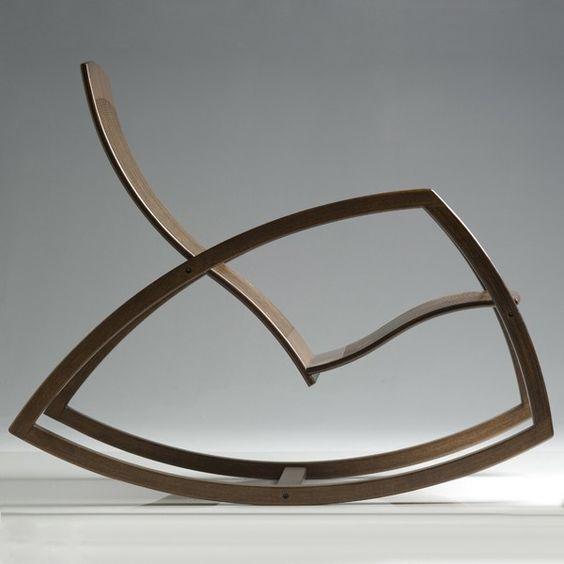 Rocking chair Objekto pour Gaivota