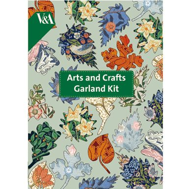 Arts and Crafts Paper Garland Kit