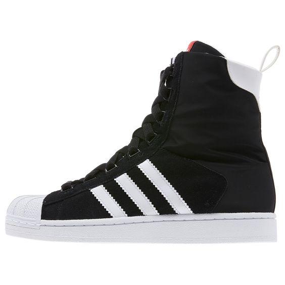 Adidas Superstar White Boots