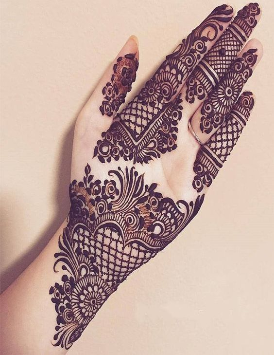 Fresh Arabic mehndi designs