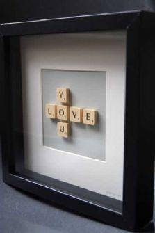 Scrabble LOVE YOU Picture