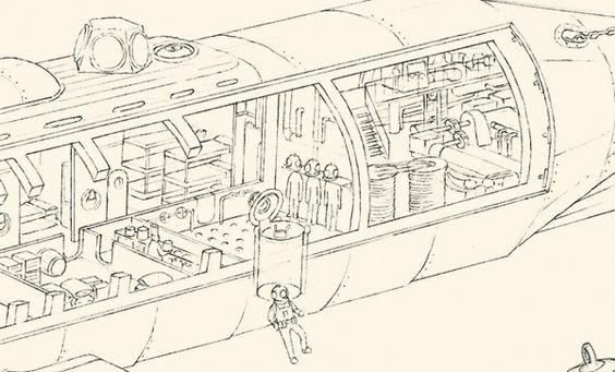 Jules Verne's machines on Behance