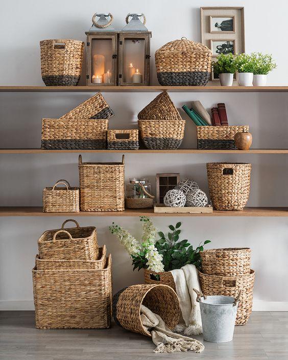 ¿Le das una oportunidad al mimbre en la decoración de tu casa?