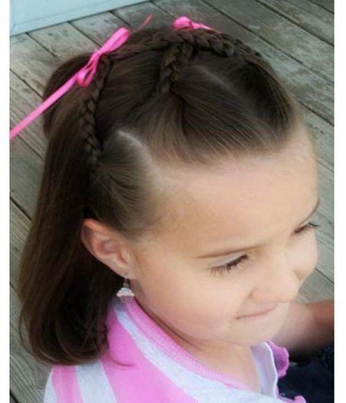 Peinados Para Nina Faciles Y Bonitos Paso A Paso Peinados Para Ninas Trenzas Faciles Para Ninas Peinados Infantiles