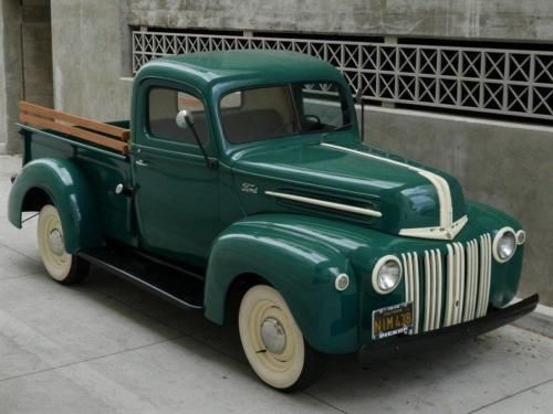 1946 Ford Pickup Stepside Shortbed 1 2 Ton Truck Old Trucks For Sale Vintage Classic And Old Trucks Oldtru Old Trucks For Sale Old Trucks Classic Trucks