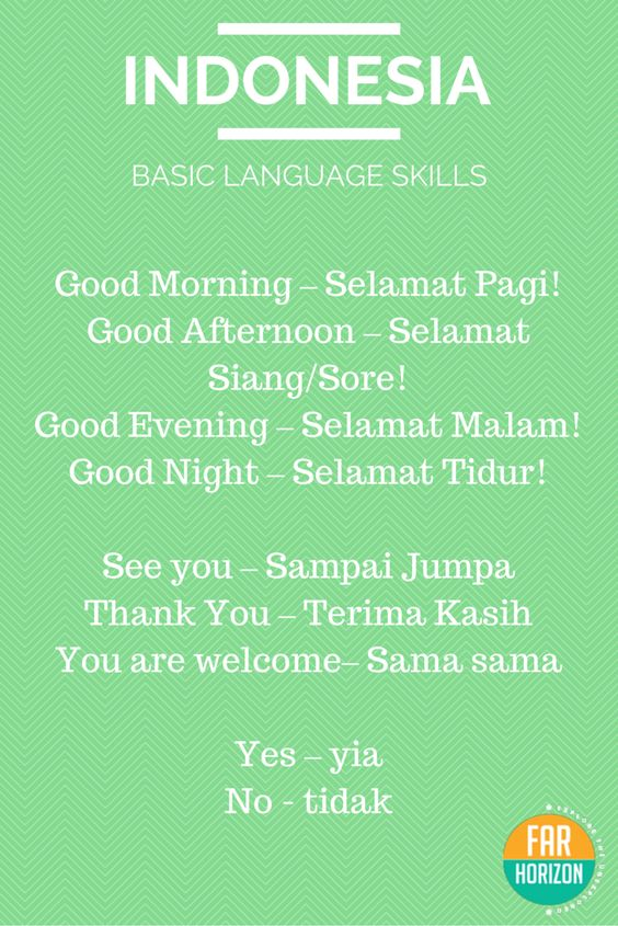 Learn Bahasa Indonesia | Learn Bahasa Indonesia