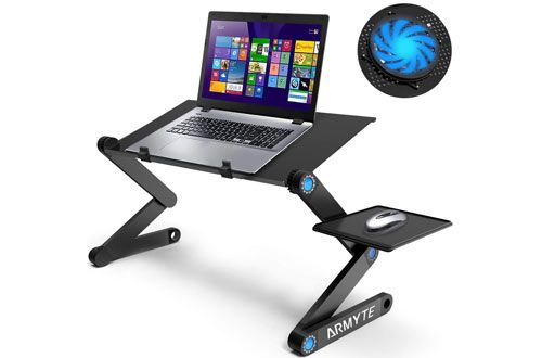 Top 10 Best Adjustable Laptop Stands For Desk Bed Reviews In
