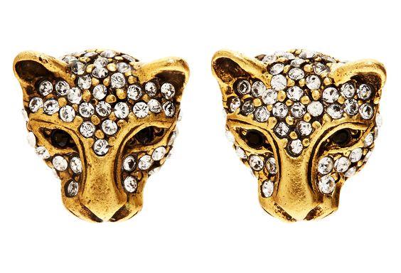 One Kings Lane - Modern Glamour - Jaguar Earrings