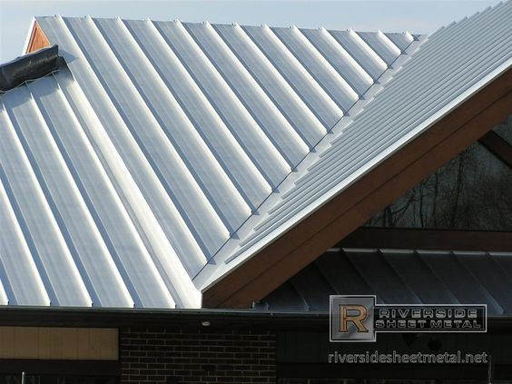 Best Metal Roof Dark Blue Slate Siding White Trim For The 400 x 300