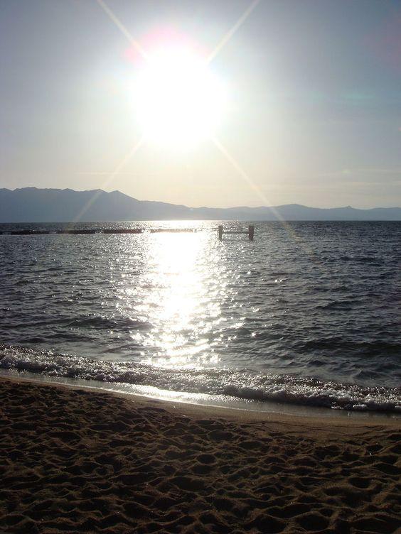Lake Tahoe Sunset by Mark Miller - Lake Tahoe – Wikipedia