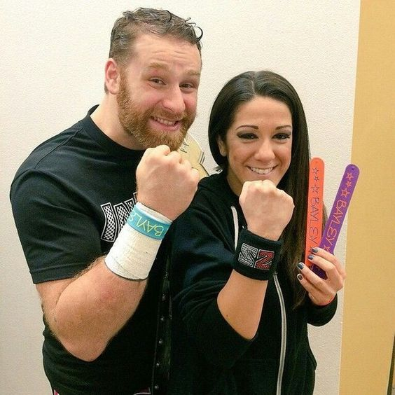 Sami Zayn and Bayley Wrasslin ❤ liked on Polyvore featuring wwe and nxt guys and girls