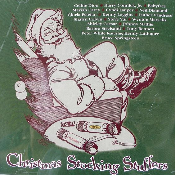 Christmas Stocking Stuffer Promo Cd 1998 Contemporary Pop 18tk Dion Vai Carey #Christmas