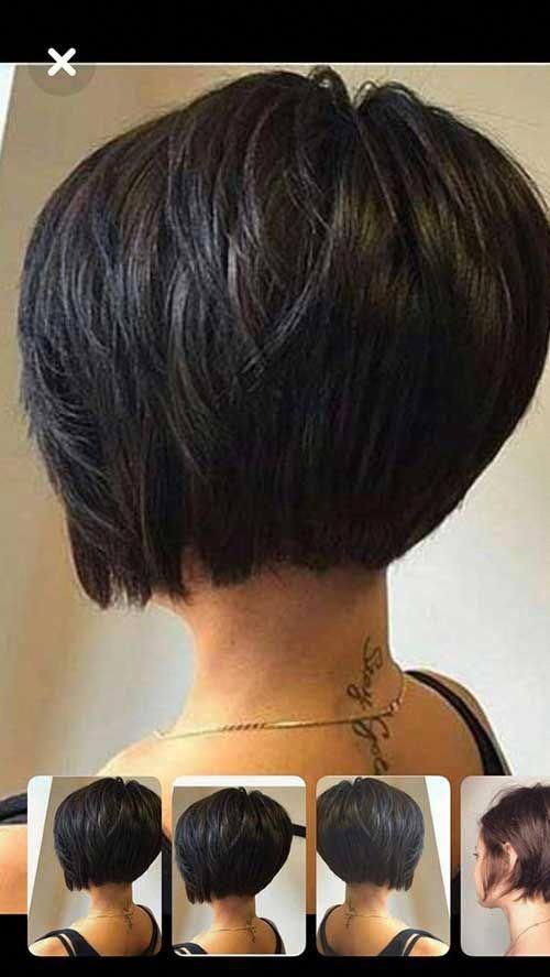 24 Short Bob Haircut Shortbobhairstyles Bobhaircut Short Bob Haircuts Thick Hair Styles Bob Hairstyles For Fine Hair