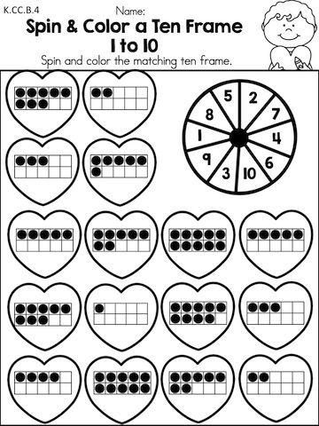 math worksheet : valentine s day kindergarten math worksheets  kindergarten math  : Kindergarten Valentine Worksheets