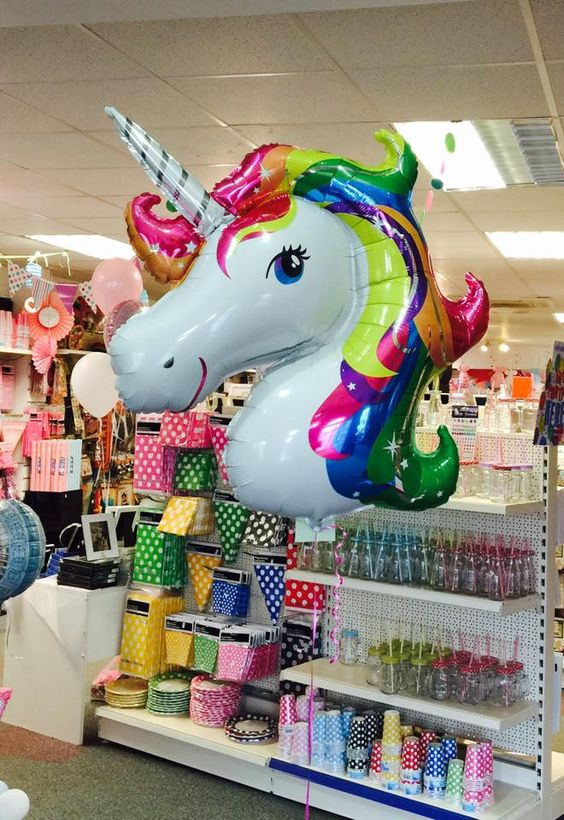 Bring a bit of colour into any party with our colourful rainbow unicorn #party #girls #young #old — feeling in love.:
