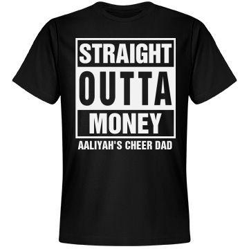 Cheer Shirt Design Ideas unique cheer shirts related items etsy Straight Outta Cheer Dad Unisex Next Level Premium T Shirt