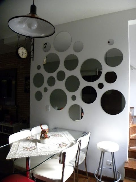 espelhos adesivos