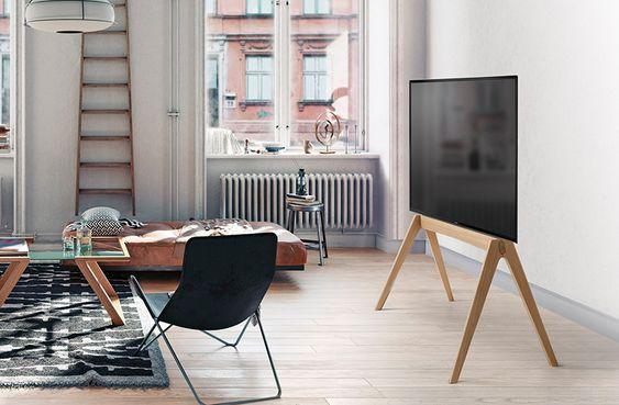 テレビスタンド インテリア ポイント 木質 家具 色
