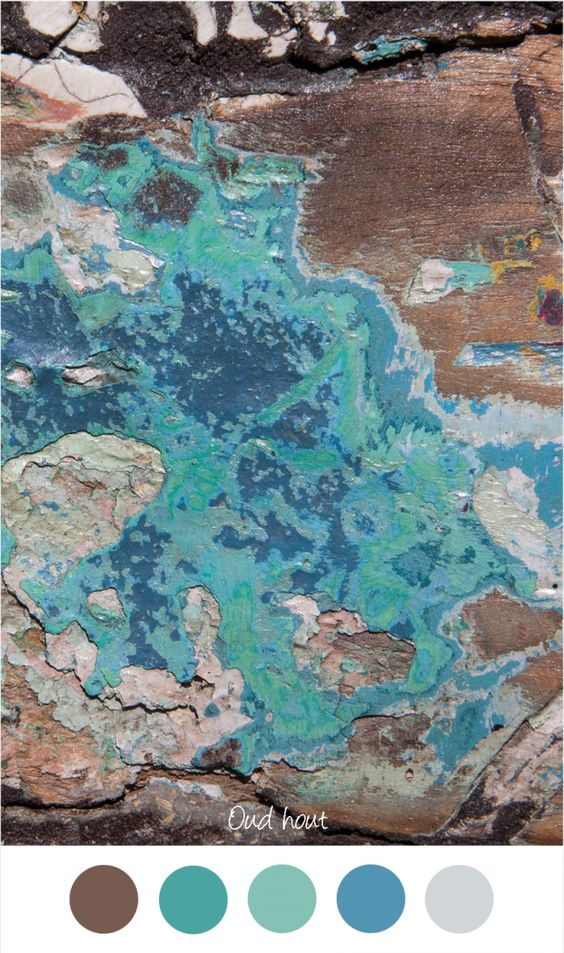 ... Blauw : Kleuren voor in het interieur grijs bruin en turquoise blauw