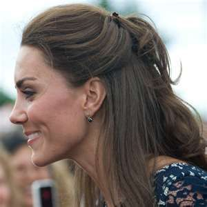 Half UpDo  *If Kate can do it...