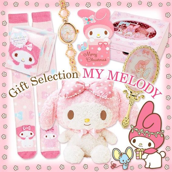 #MyMelody sweet pink-ish goods ( ´ ▽ ` )ノ