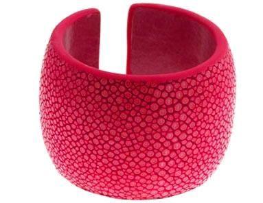Pink Stingray Bangle