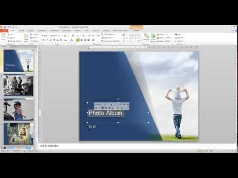 16 best animation powerpoint video tutorials images on pinterest this is a short tutorial which will show you the easiest way to create stunning photo albums in powerpoint with vivid powerpoint templates frompoweredt toneelgroepblik Gallery