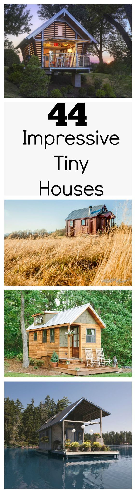 Tiny houses are popping up around the country as more people decide to downsize their lives. However, owning a tiny house doesn't necessarily mean making sacrifices, and these amazing tiny houses are proof.