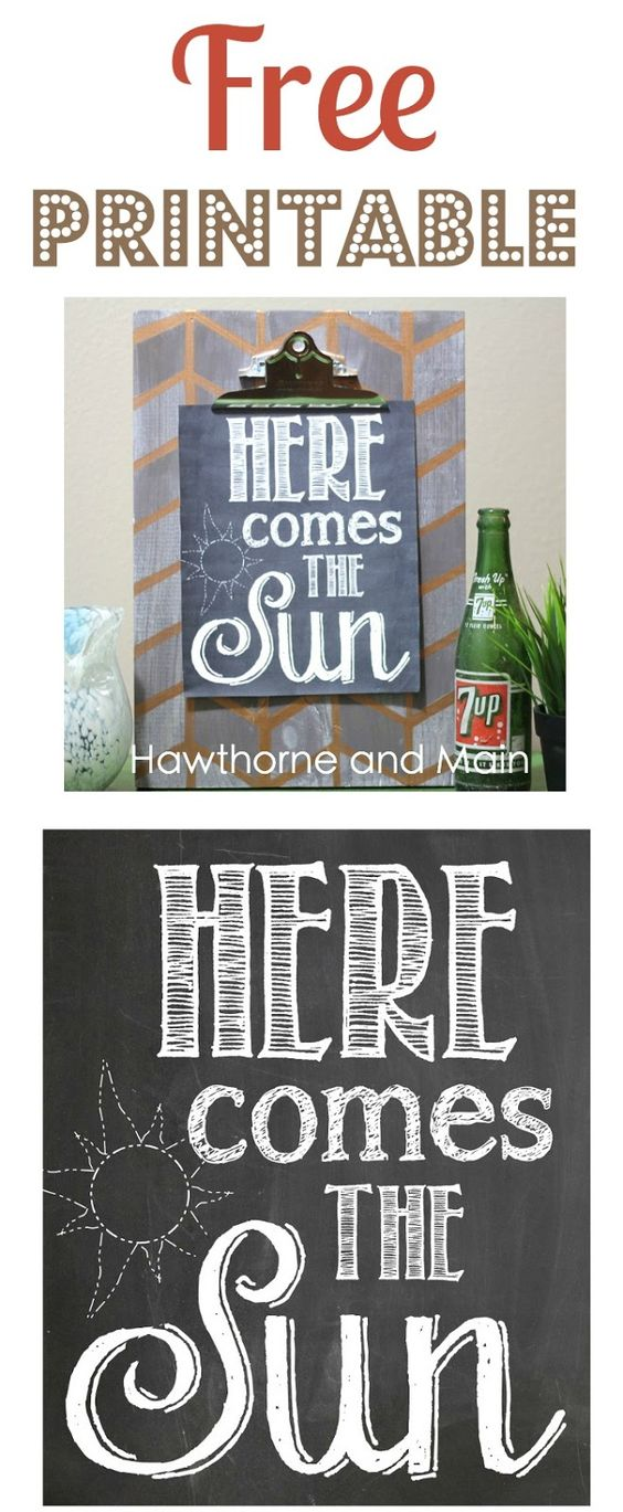 Hawthorne and Main: Free Printable