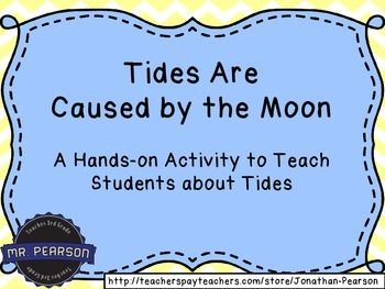 A fun craft activity to help students understand the abstract concept of the moon's gravitational pull causing high tide and low tide. (Free!)