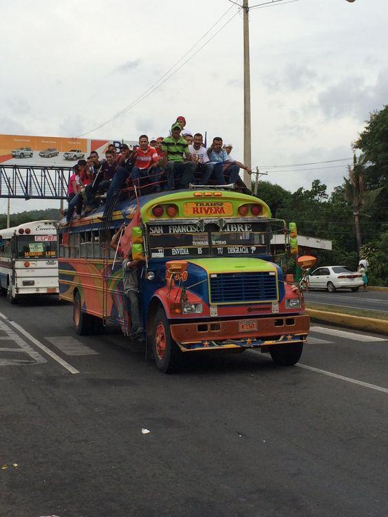 Bus ride!!! #Nicaragua #adventure #abroad #ridewithus