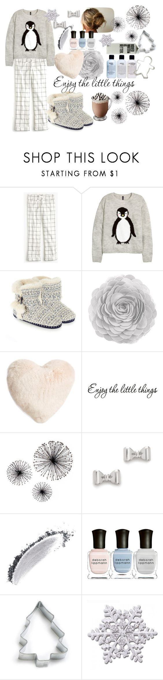 """❄︎Winter Morning❄︎"" by bcsipp ❤ liked on Polyvore featuring J.Crew, Accessorize, Nordstrom, Marc by Marc Jacobs, NARS Cosmetics, Deborah Lippmann, Ann Clark and philosophy"