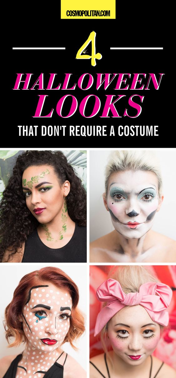 These Halloween makeup ideas are STUNNING — and you can wear 'em with clothes that are already in your closet <3