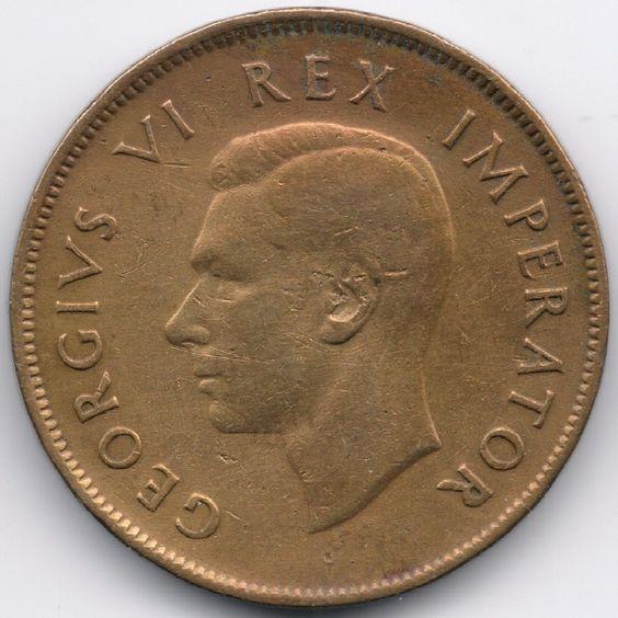 South Africa : 1 Penny 1942 op eBid België