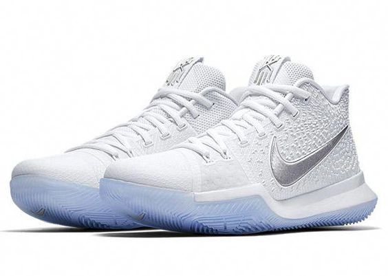 Nike Shoes   White Kyrie 3s   Color