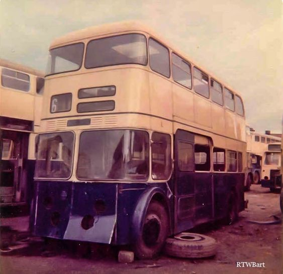 FINAL DAYS OF 1L (1 UDH) THE WORLD'S SHORTEST DAIMLER FLEETLINE BUS - Photo by Richard Brookes on CClickasnap - The world's largest, free to use, paid per view, image sharing platform
