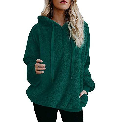 Women's Sweatshirt Hooded Jacket Crewneck Long Sleeve Swe