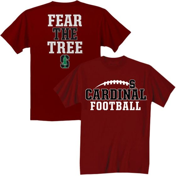 Champion Stanford University Cardinal Football 39 Fear The