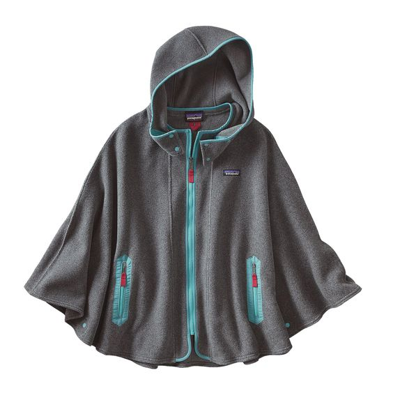 Your favorite pullover now comes in a poncho! The Patagonia Women's Lightweight Synchilla® Poncho is perfect for those cool fall evenings. Check it out.