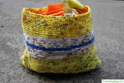 Bag made from Bags = SUPERBAG