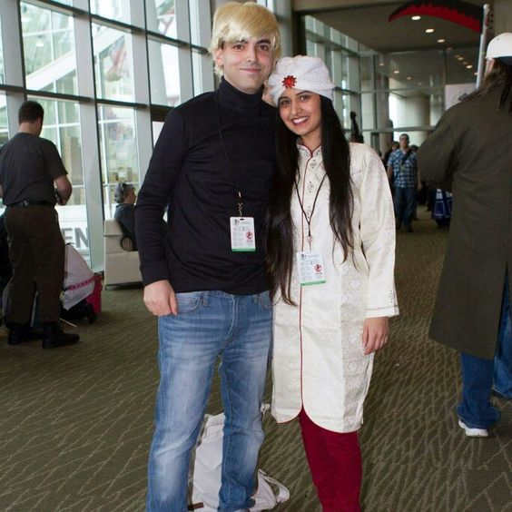 Johnny Quest and Hadji costumes,  cosplay.  Simsimsalabin